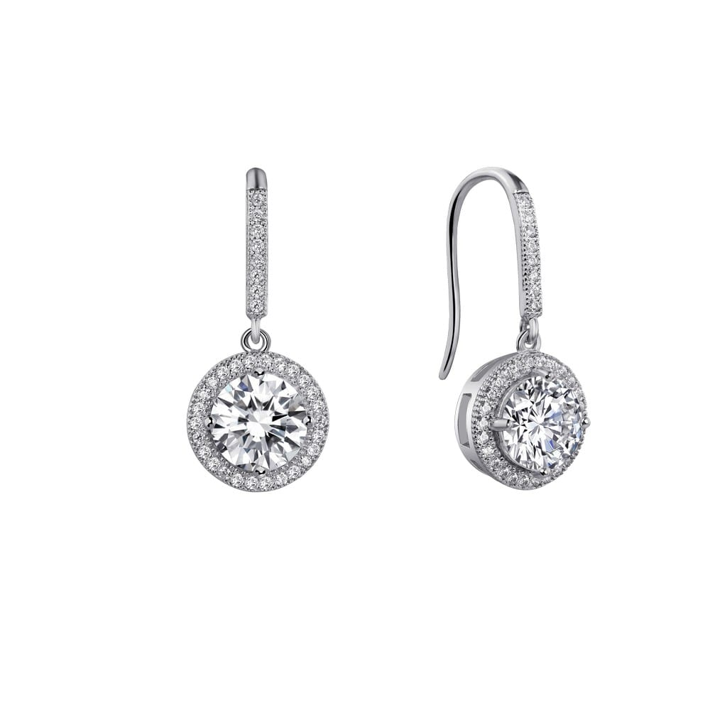 Simple yet sophisticated These drop earrings are set with ...